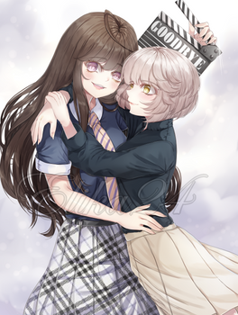 CM: Yonagi and Chiyoko ^^