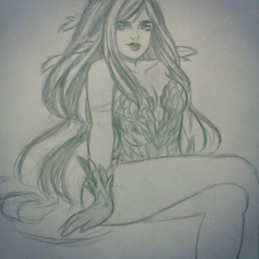 Poison Ivy by Firework-Grenade