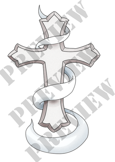 In Loving Memory Cross Tattoo by Sapheron-Art on DeviantArt