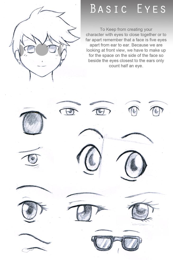Basic Eyes Reference Sheet By Sapheron-Art On DeviantArt