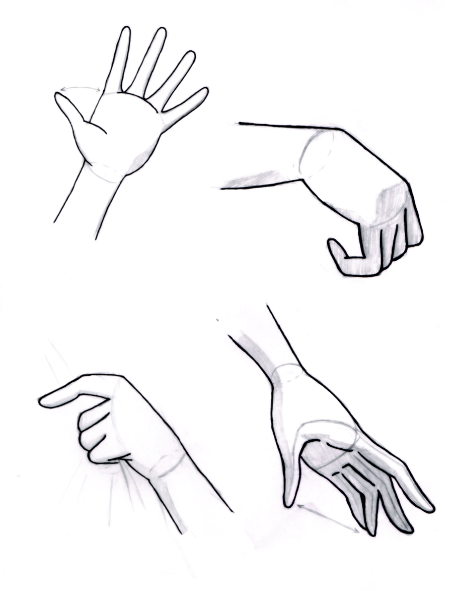 Hand Reference Sheet By Sapheron-Art On DeviantArt