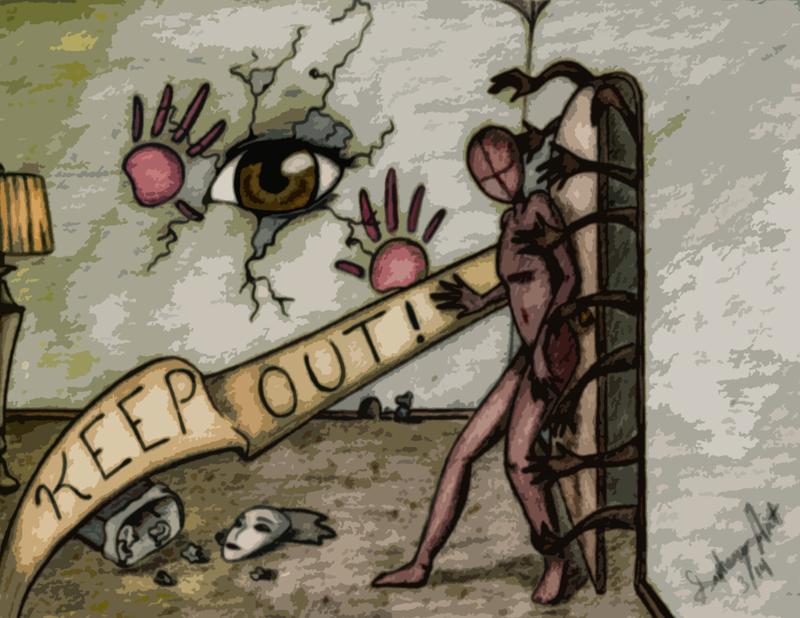 NoFace S1 : Keep Out by Sapheron-Art