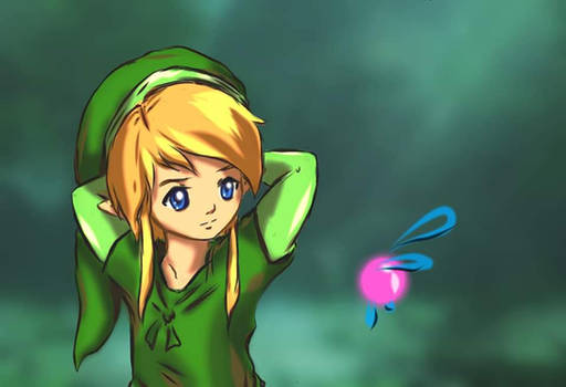 Link and Navi - Upgraded Version