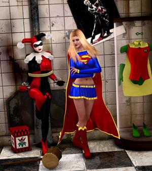 Harley Forgot the Kryptonite