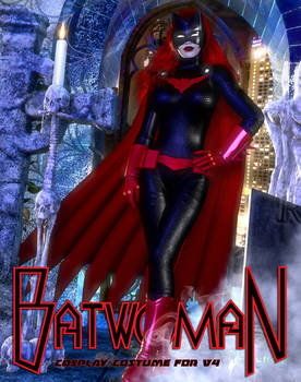 Batwoman costume For V4