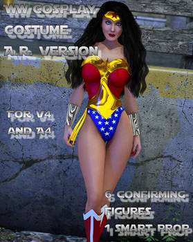 Wonder Woman AR ver costume for V4 and A4