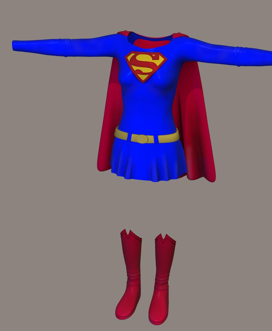 DC COMICS: SUPERGIRL   Original Superwoman