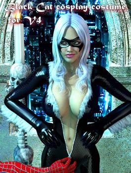 Black Cat ver 2 cosplay costume