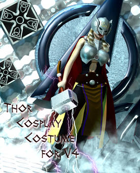 Thor cosplay Costume for V4.