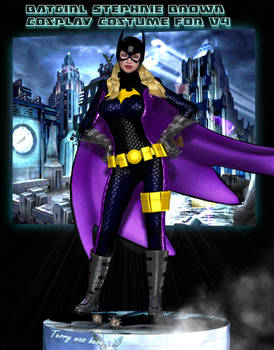 Batgirl SB cosplay costume for V4