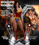 Wonder Woman custom morph and costume for V4