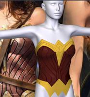 WonderWoman movie costume for V4 preview