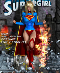 Supergirl New 52 cosplay costume by Terrymcg