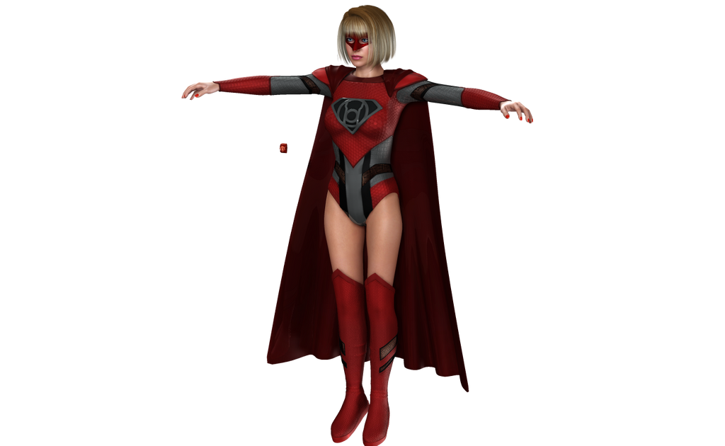 Red Lantern Cosplay for V4 preview by Terrymcg