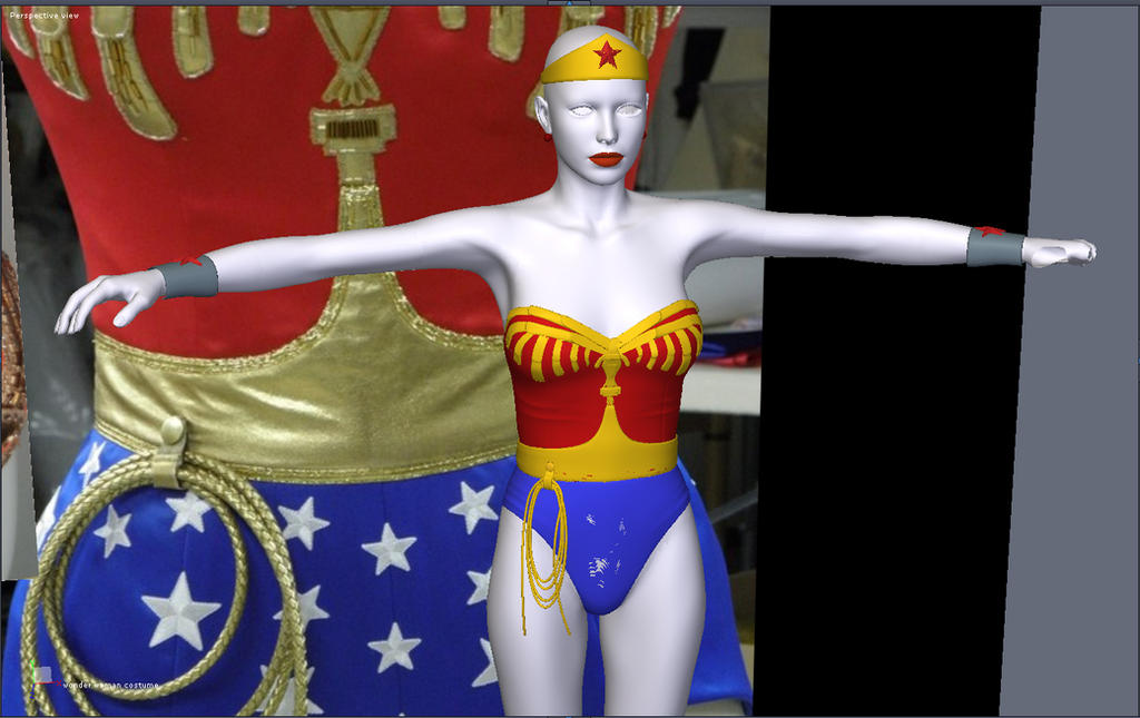 Wonder Woman TV for V4 preview by Terrymcg