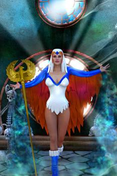 Sorceress costume for V4 promo