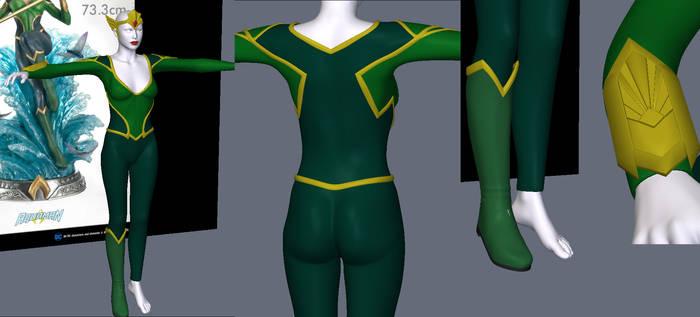 Mera Preview 2 costume for v4