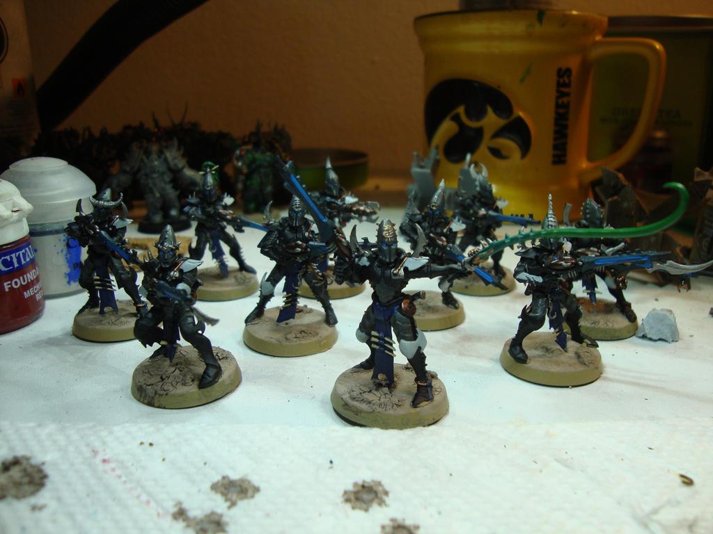 Dark Eldar - Kabalite Warriors (WIP) by Quiet-Lamp
