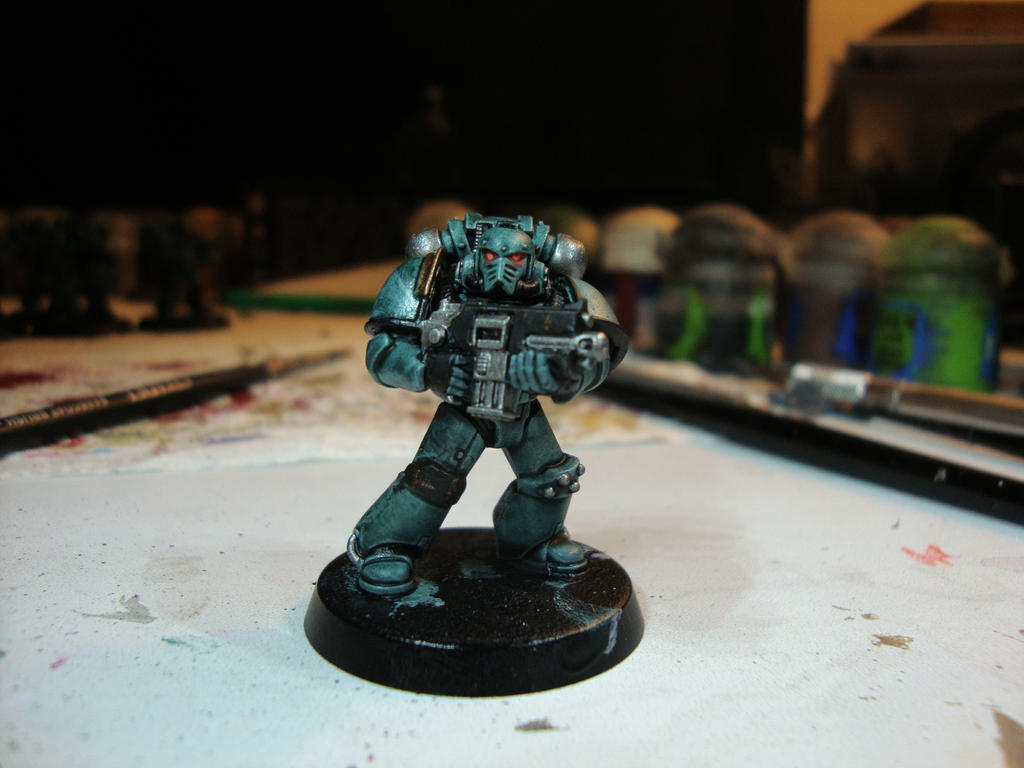 Sons of Horus - Legionary (WIP) by Quiet-Lamp