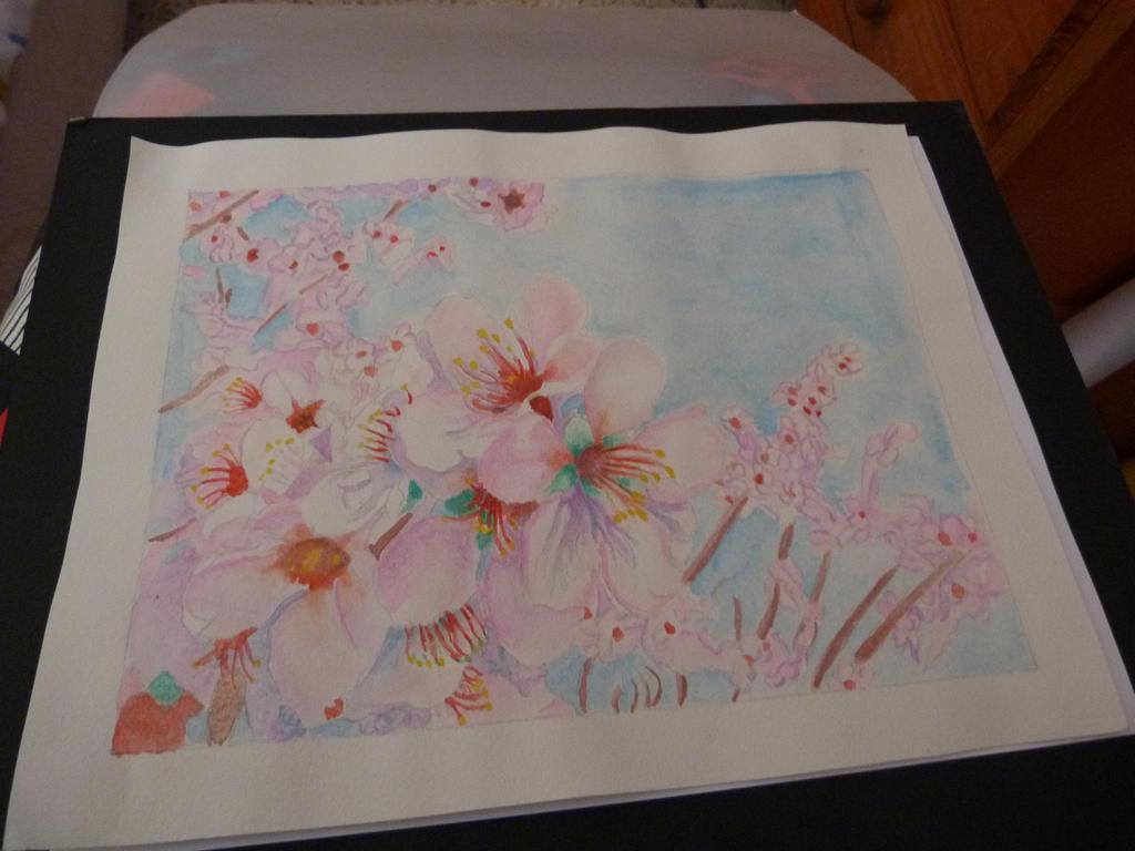 watercolor  technique by NikolaiSirone