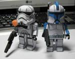 Sand n clone troopers