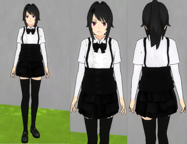 Yandere Simulator Outfit By Floorcakelol On Deviantart