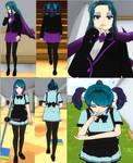 Kawaii Maid and School Uniform