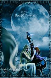 A-melody-at-night by SpiritCrystal