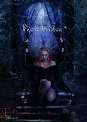 Black-Widow- by SpiritCrystal