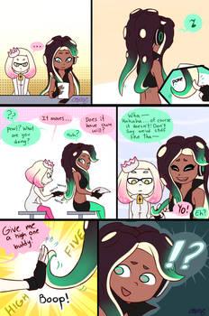 Marina's hair