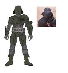MOTU Dark Soldier by marcosbarriento