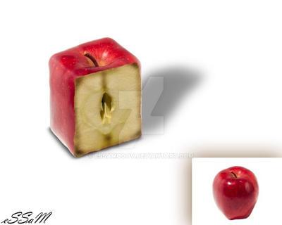 Sliced Apple by Essamo0ov