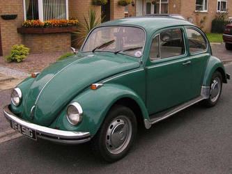 Green 1969 volkswagen beetle by Godzilla2137