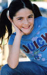 Isabelle Fuhrman with pigtails. by Godzilla2137