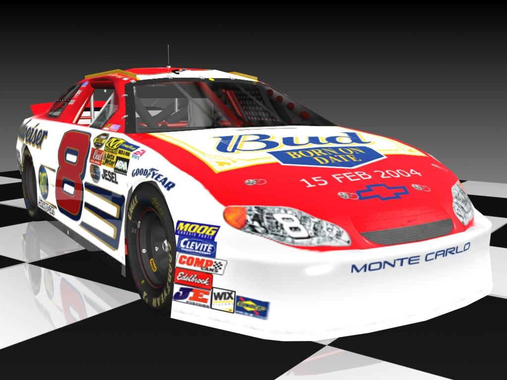 Dale Jr Daytona  Car