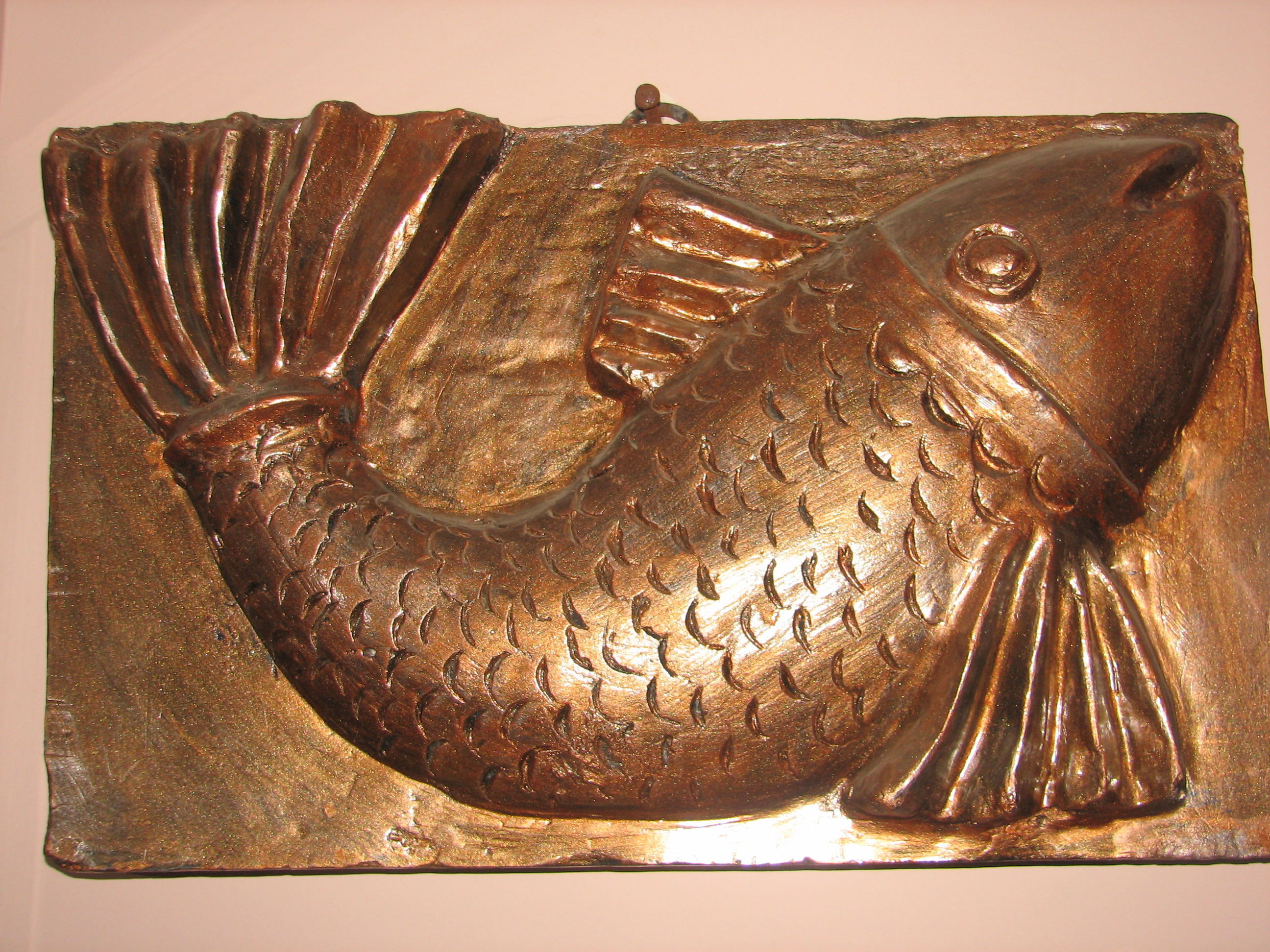 Sculpture relief fish by anamondal on deviantart