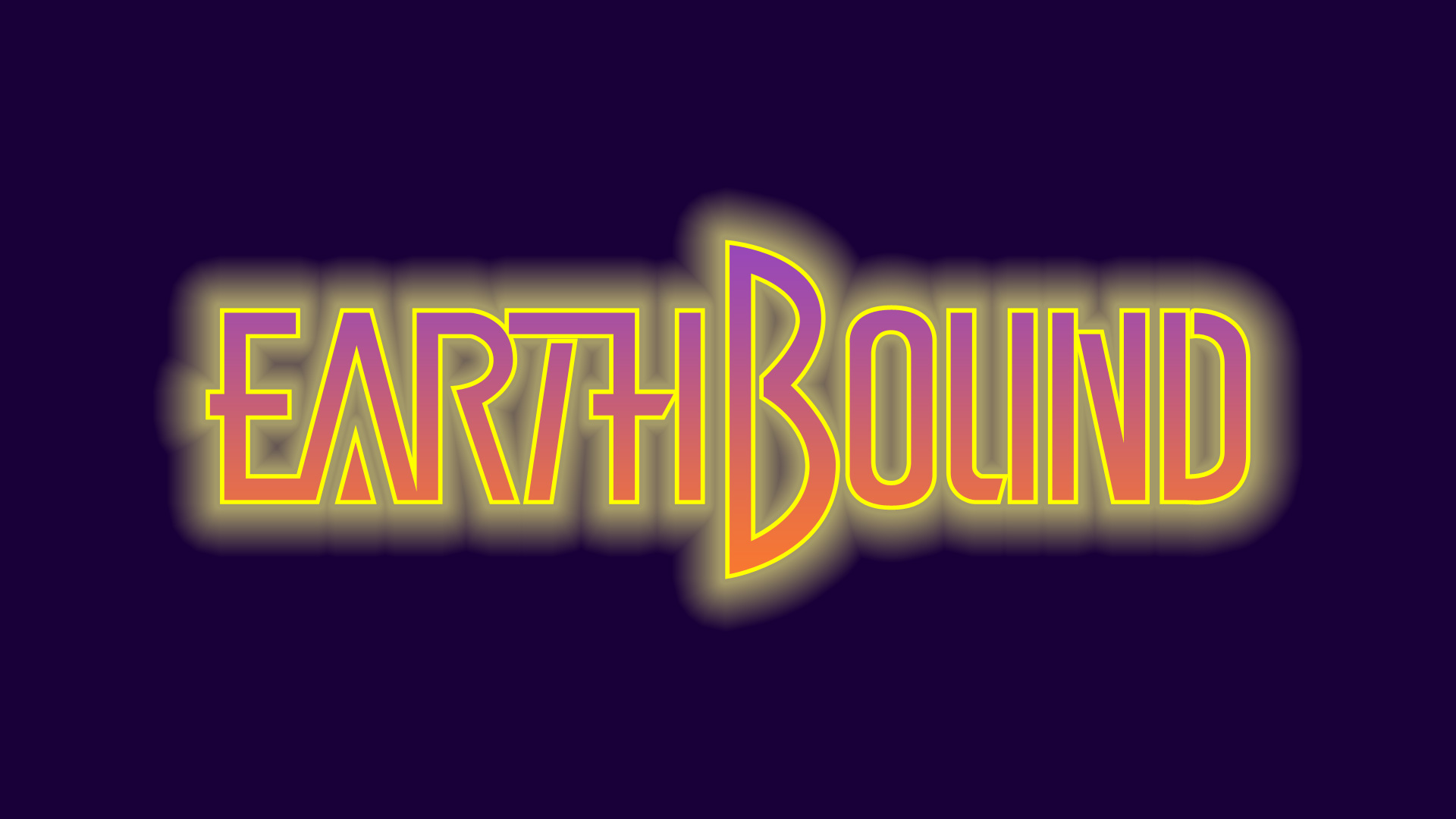 EarthBound logo DX by metaly