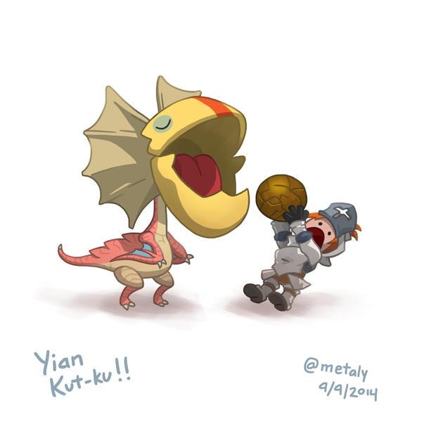 Yian Kut-ku!! by metaly