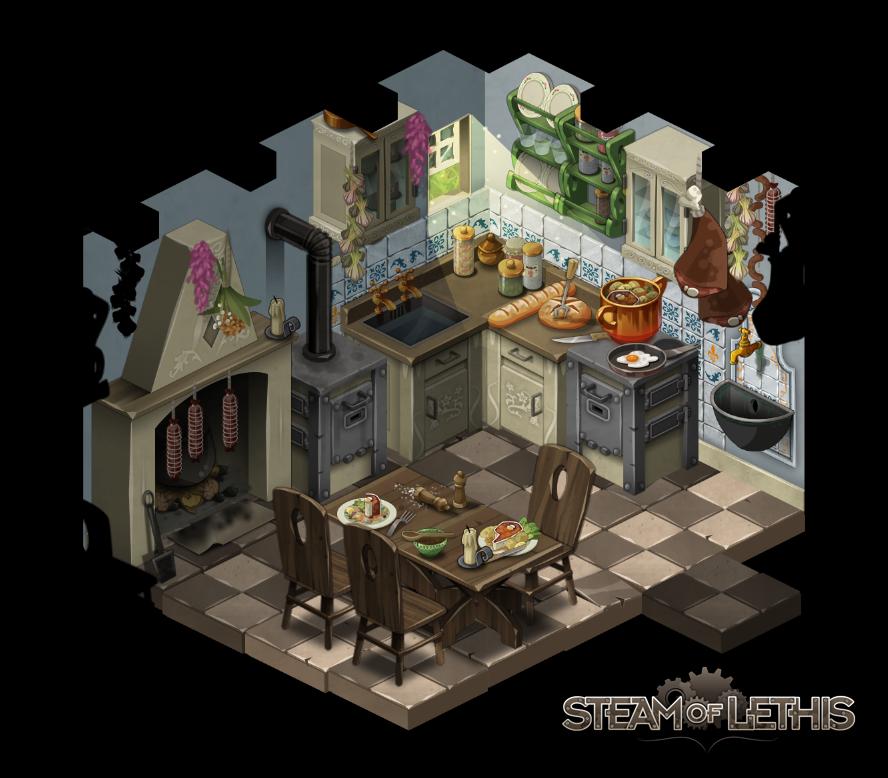 Kitchen By Steam-of-Lethis On DeviantArt