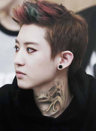 Chanyeol 2014 Wallpaper Tattooed Chanyeol by o...