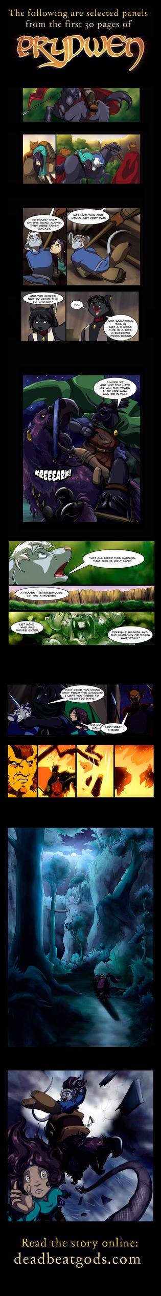 Prydwen Comic Preview by deadbeatgods