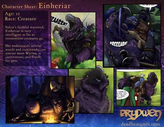 Character Sheet- Einheriar by deadbeatgods