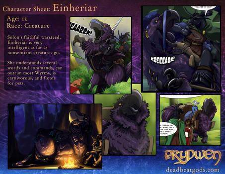 Character Sheet- Einheriar