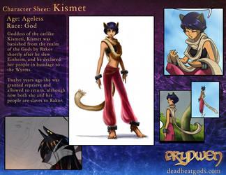 Character Sheet- Kismeti by deadbeatgods