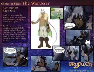 Character Sheet- The Wanderer