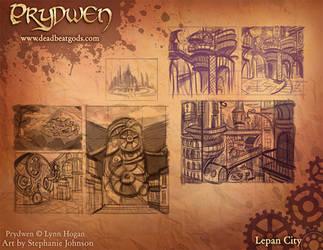 Promo Art- Lepan City by deadbeatgods