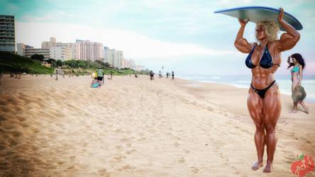 2021-07-02 Blondie at the Beach