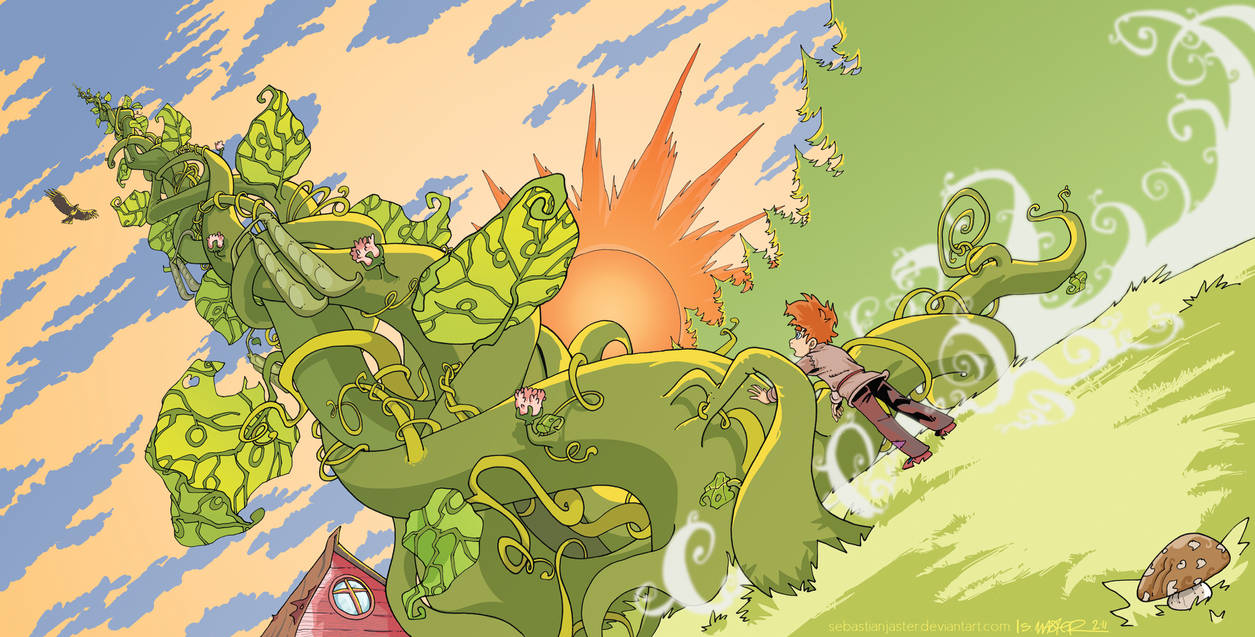 Jack and the Beanstalk by sebastianjaster