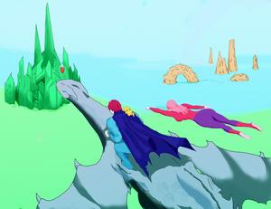 Flight with Bubblegum