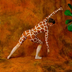 Hungry Giraffe by amitbar